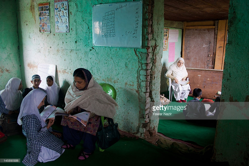 Photo: Yawar Nazir/ Getty Images, Children of Kashmir, Conflict and A Collapsed Education System | Leher NGO in India | Child Rights Organization