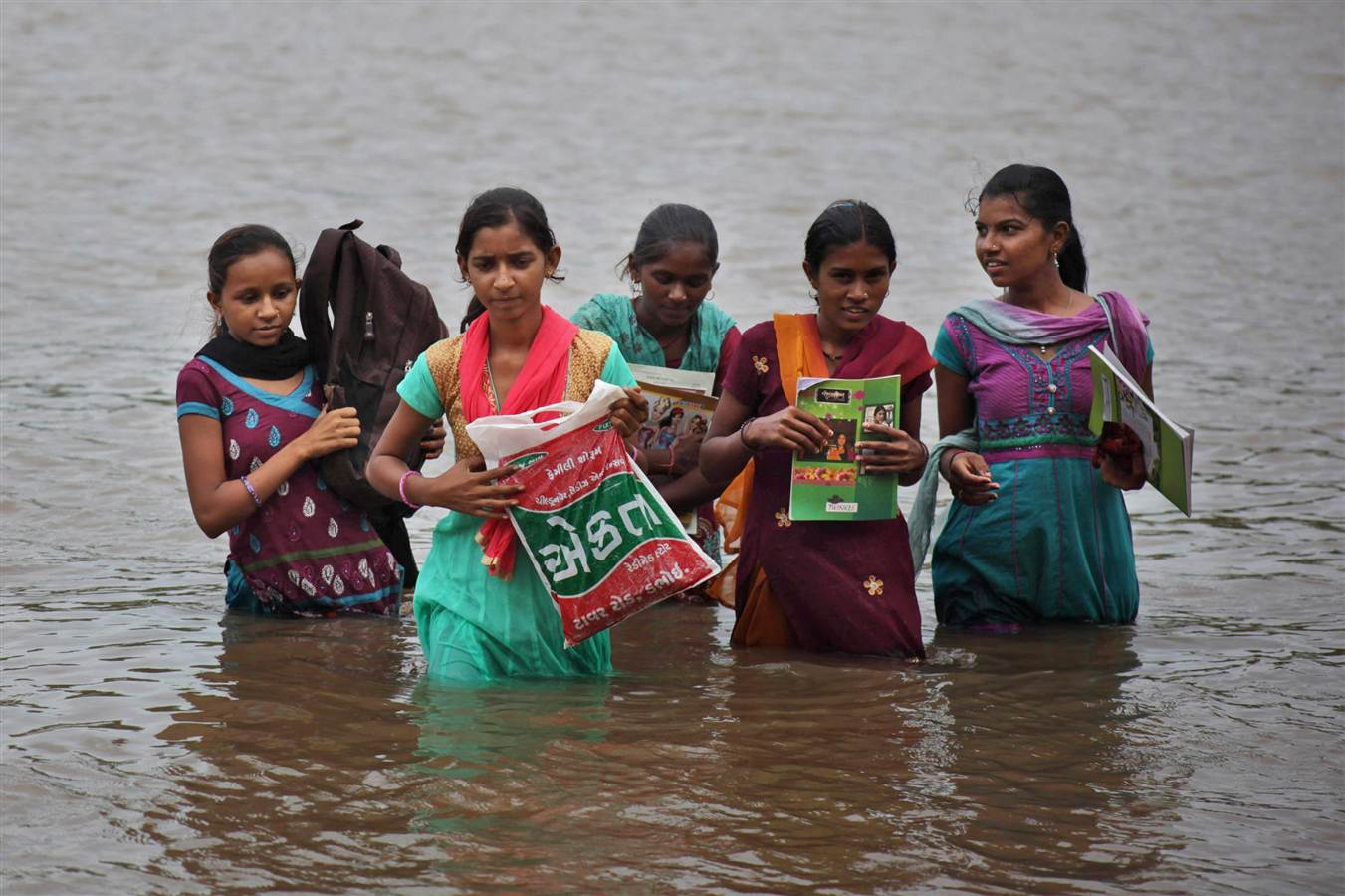 Photo: Associated Press, In Photos: A Rough Road To The Classroom | Leher NGO in India | Child Rights Organization