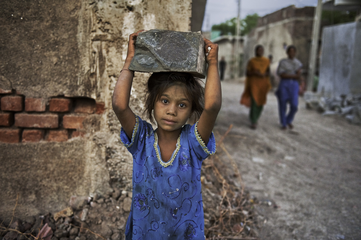 Photo- Steve McCurry, Our Climate, our Children, our Call to action | Leher NGO in India | Child Rights Organization