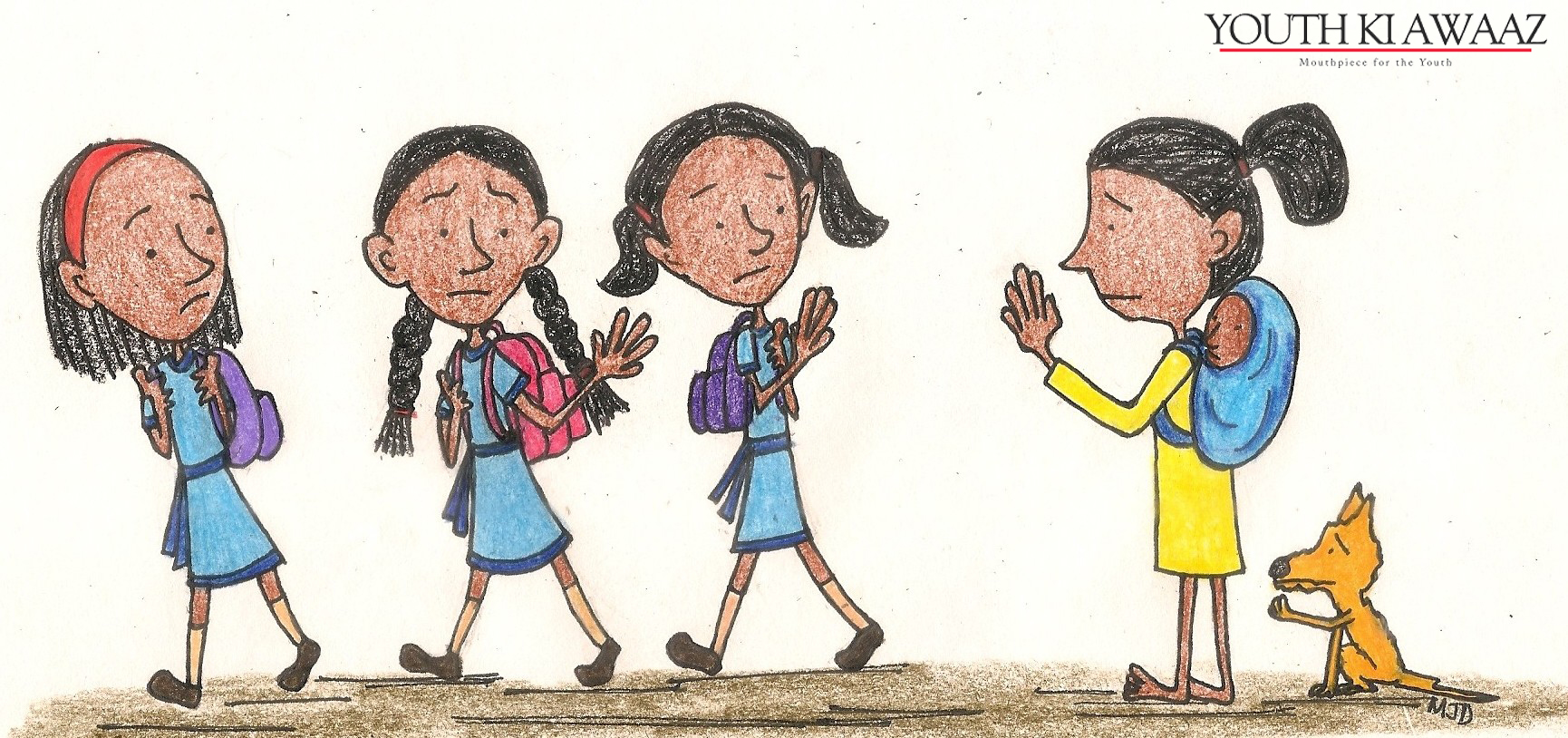 Doremai's Illustrations and Their Attention on Issues Facing Children in India | Leher NGO in India | Child Rights Organization