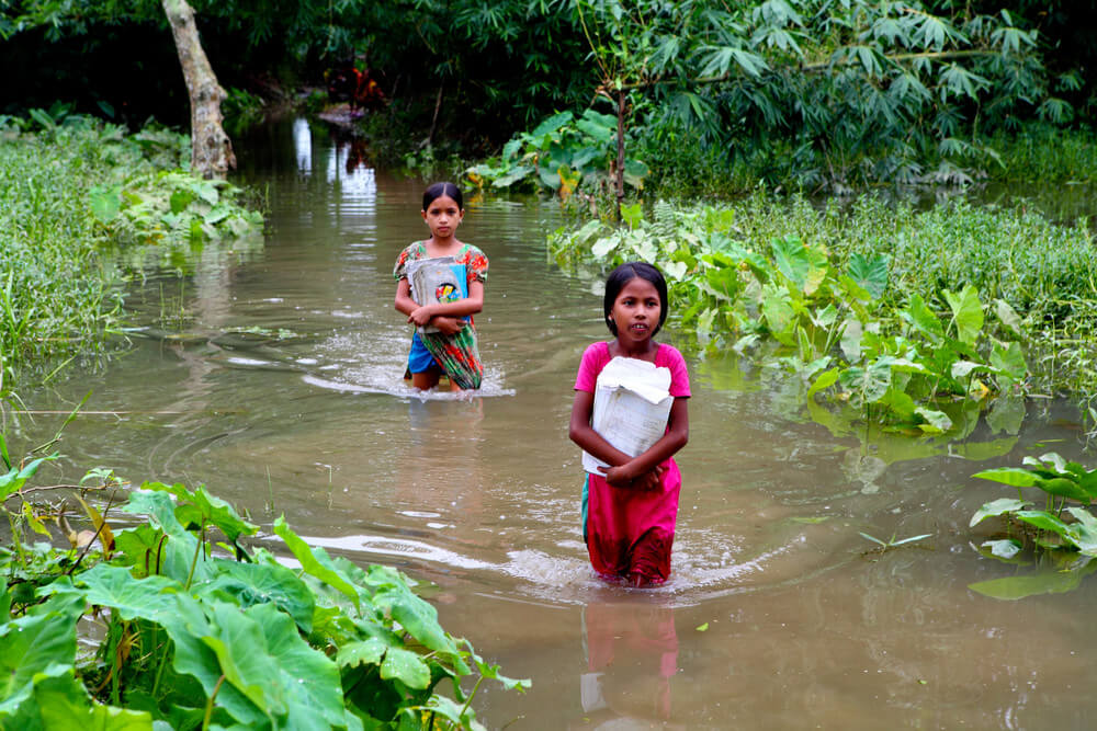Climate Change in India   Leher NGO in India   Child Rights Organization