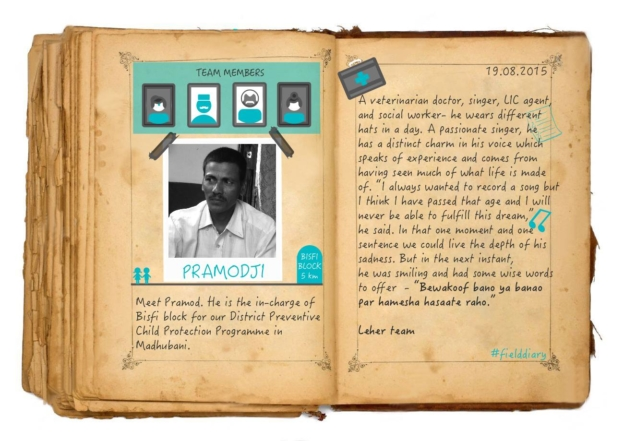 Meet Our Team Member – Pramod, In-charge of Bisfi block | Child Rights Organization | NGO in India