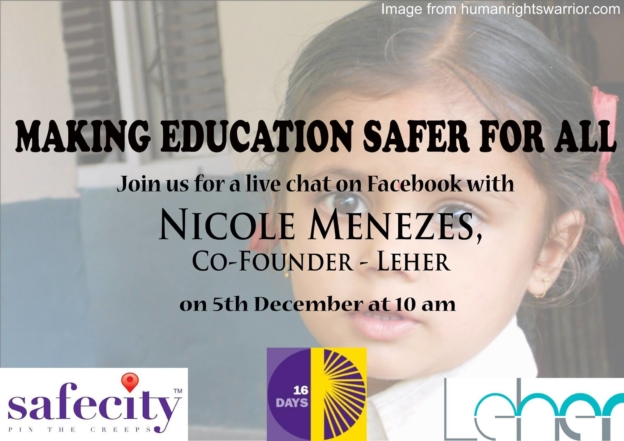 Making Education Safer for All   Child Rights Organization   NGO in India