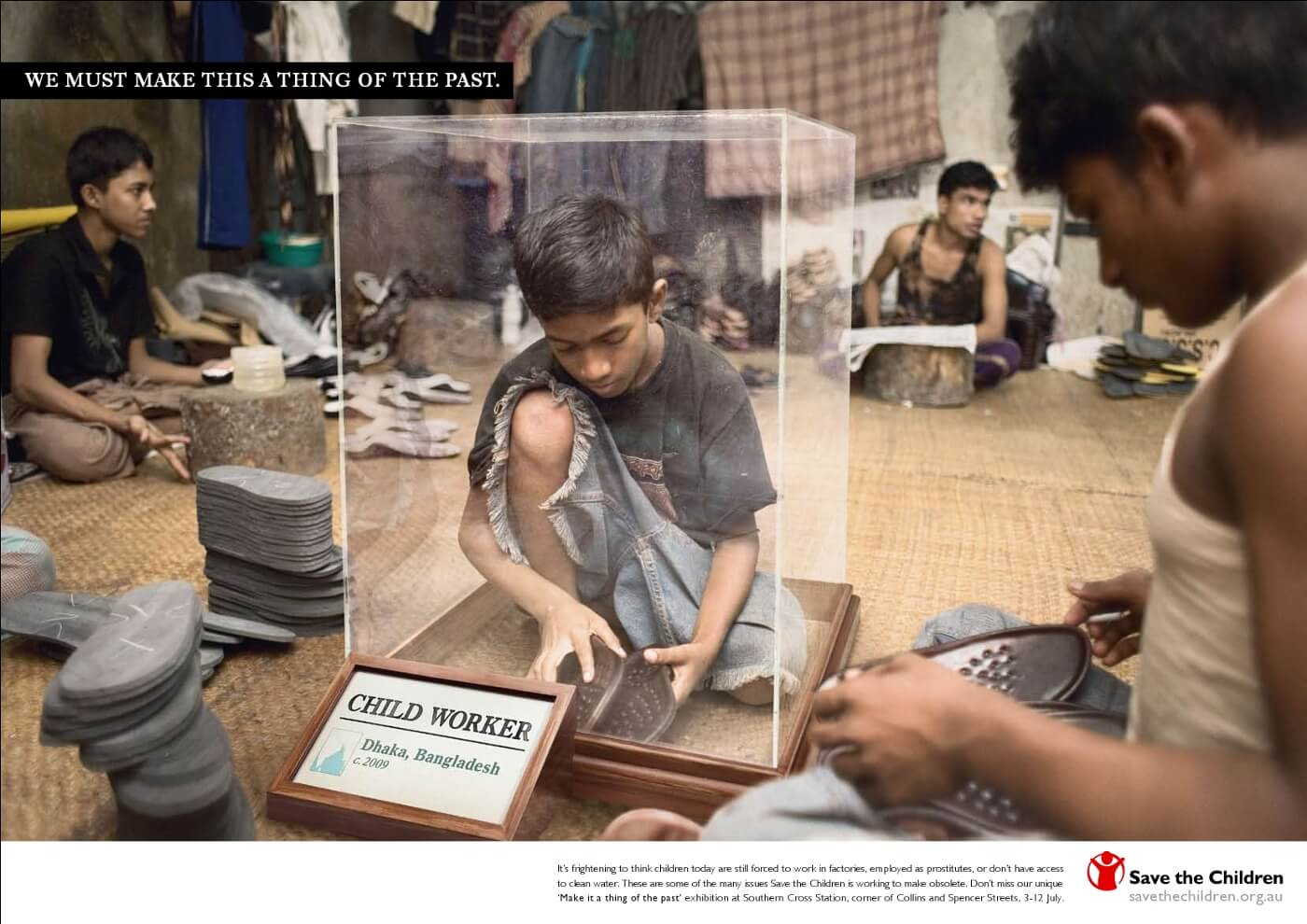 interesting campaigns on child labour from around the world leher